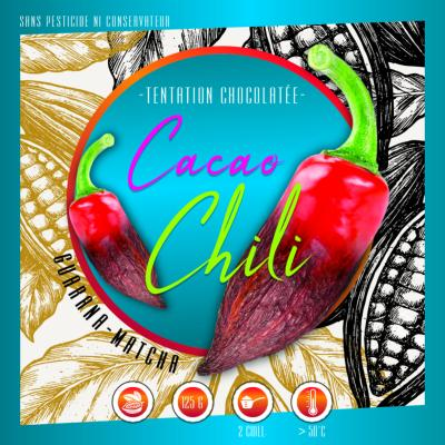 Cacao original piment Chili Bio & éthique
